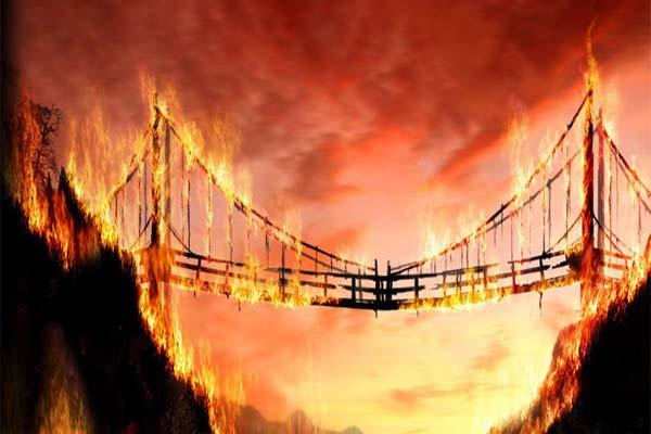 Горящий Калинов мост